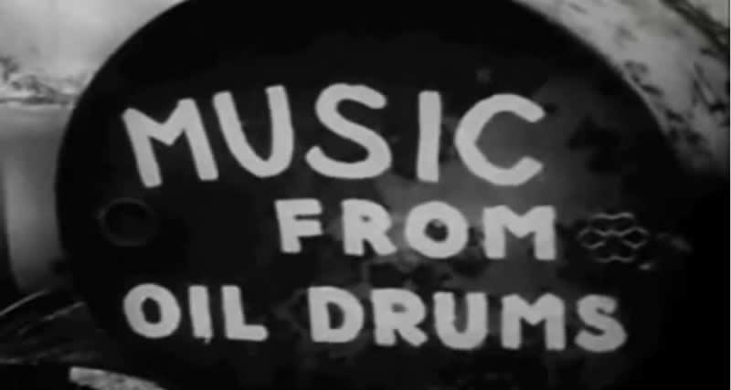 history steel drums